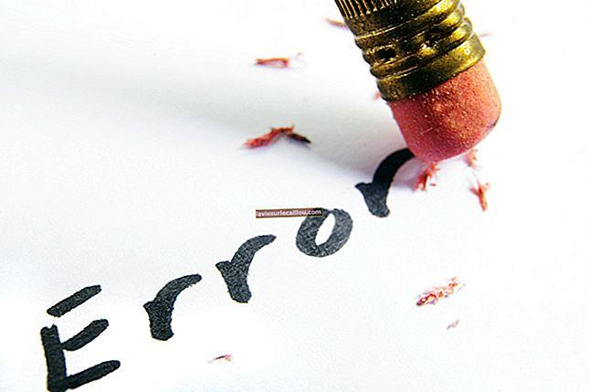 כיצד לדווח על תיקון שגיאות