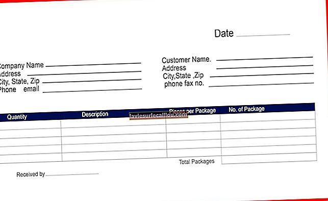 Ta med kvitteringsbevis på fakturaen