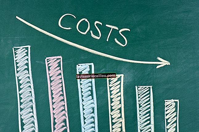 대차 대조표에 대한 비용의 영향