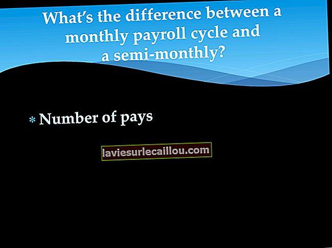 반 월급과 격주 급 급여의 차이
